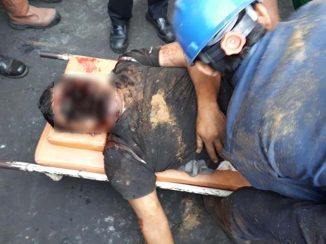 Karyawan PT Nubika Jaya Blok Songo Labusel yang tewas tergiling mesiin.