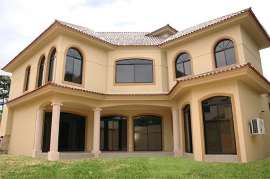 Fachadas de casas modernas y lujosas cocinas modernas for Modelos de fachadas de casas de dos pisos