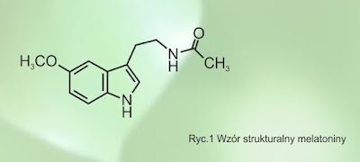 melatonina struktura