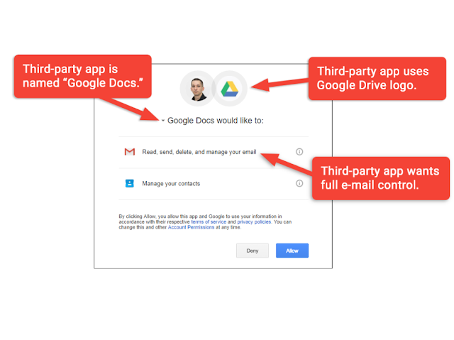 "Jangan percayai OAuth: worm ""Google Docs"""