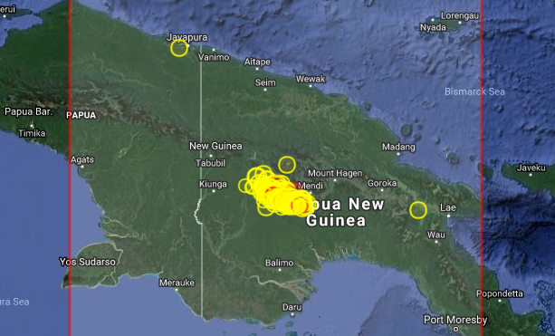 Earthquake Prediction 6 0r In Papua New Guinea