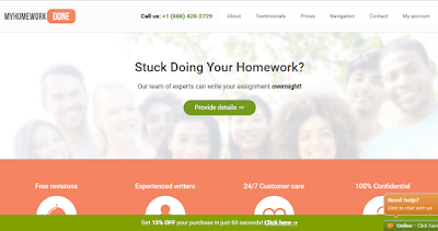 MyHomeWorkDone.com  review