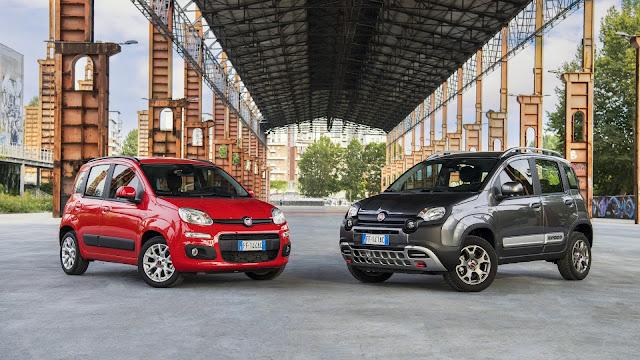 Fiat Panda 2017 - Dos gamas de colores para la carrocería