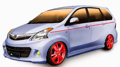 Modifikasi Mobil Avanza Ceper