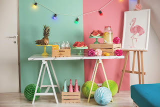 Bring summer colours into your home