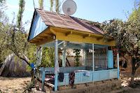 Kyrgyzstan, Arslanbob, at Shakirbek home, topchan, © L. Gigout, 2012