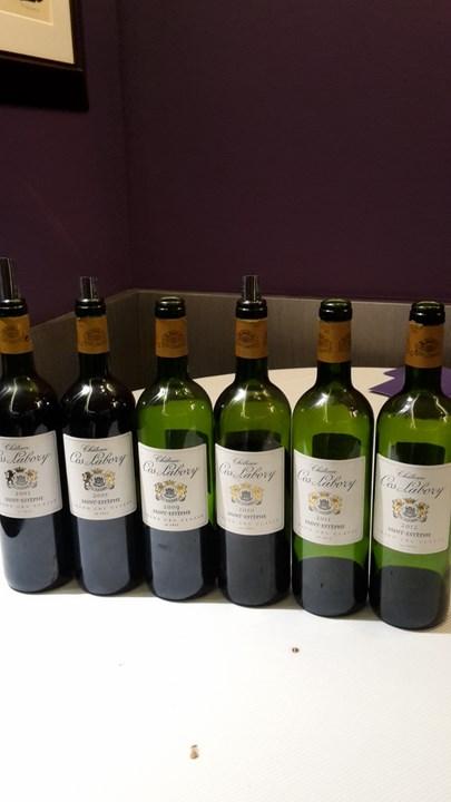 Dégustation des vins Château Cos Labory au Carré des Feuillants