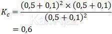 Nilai konstanta kesetimbangan baru setelah dilakukan penambahan konsentrasi masing-masing gas dengan jumlah mol yanng sama