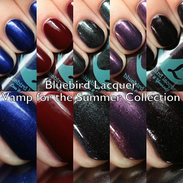 Bluebird Lacquer Vamp for the Summer Collection