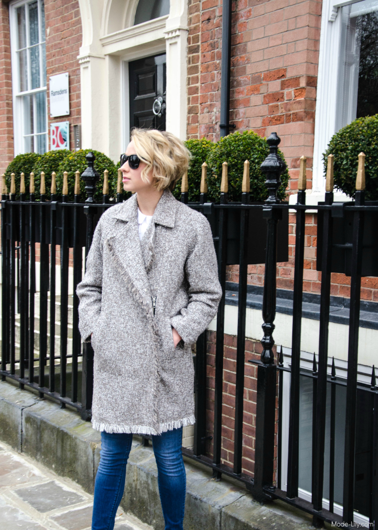 Outfit Post: Oversized Bikers Coat