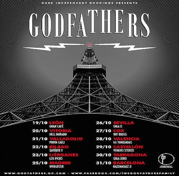 Que vuelven los Godfathers!!! - Gira española 1