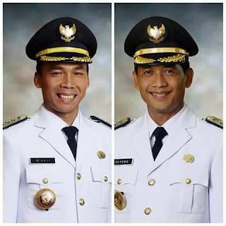 Bupati Batang H Wihaji SAg MPd dan Suyono SIP Msi