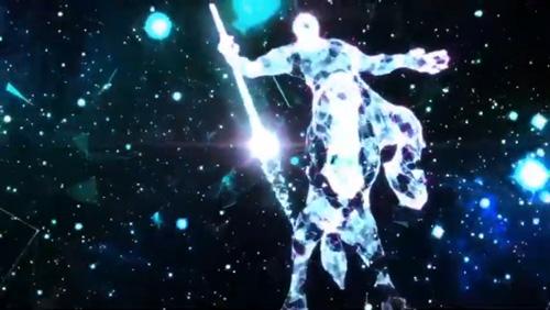 浩瀚星空『光雕藝術』讓情境、氛圍都變得繽紛、浪漫,展現全新的科幻藝術。