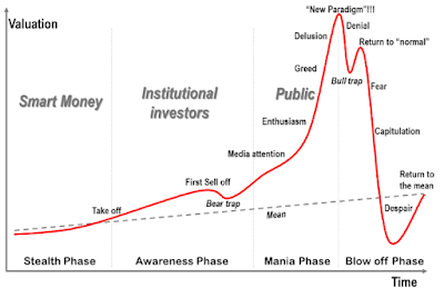 Life cycle of a stock market rally