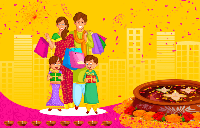 Happy Diwali SMS Quotes and Shayari in Hindi 2018