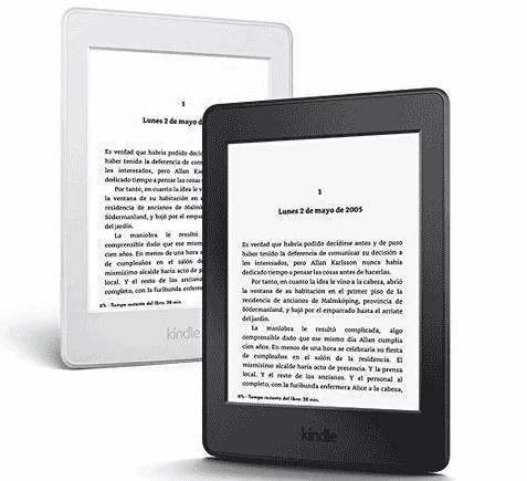 Las especificaciones más importantes del lector de ebooks del modelo Paperwhite