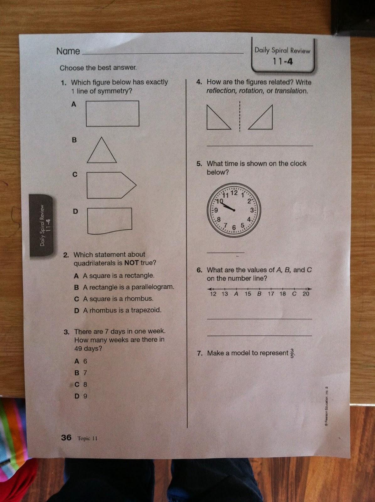 Homeschool Review Math U See