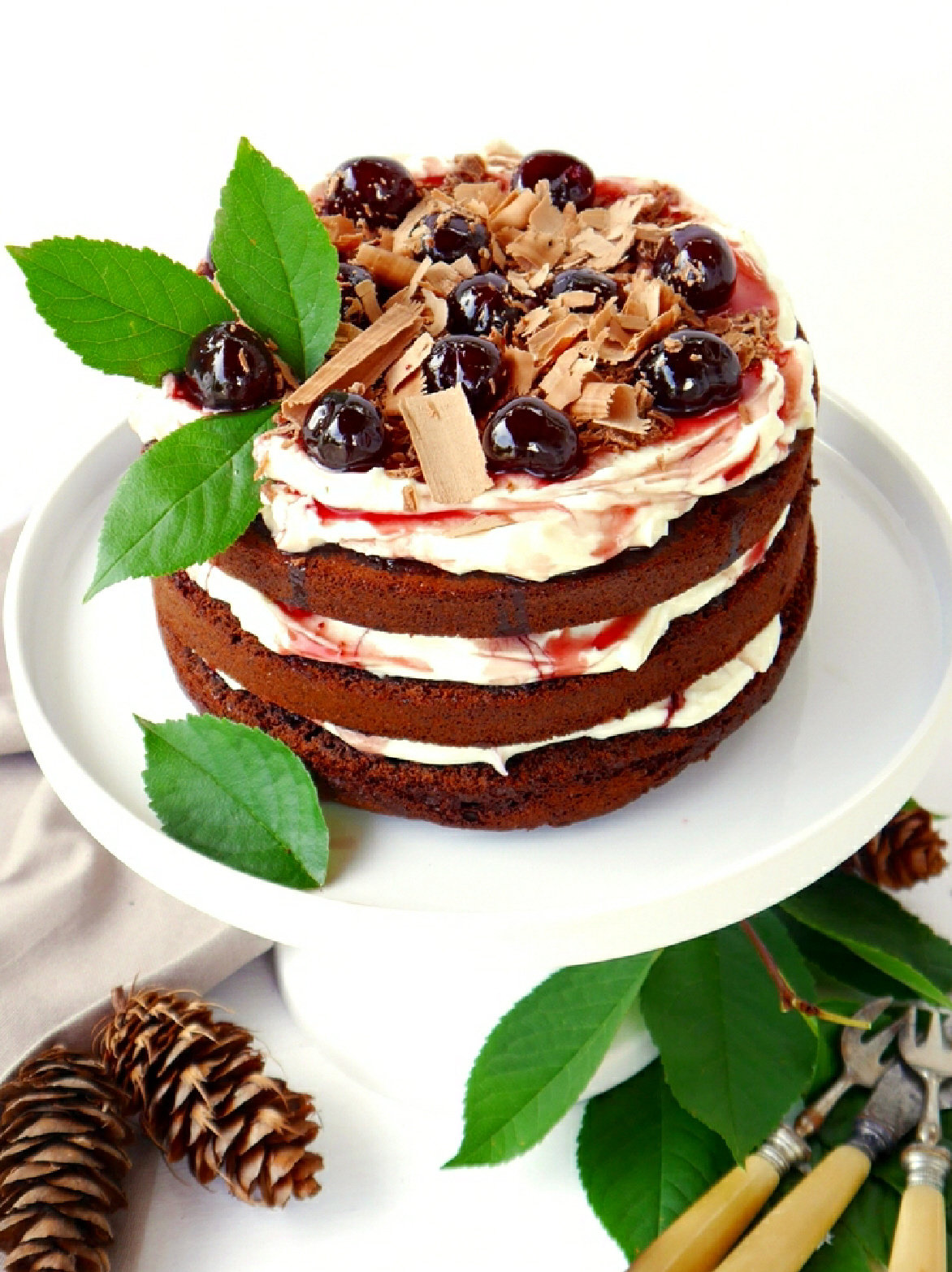 Easy Black Forest Gateau Recipe