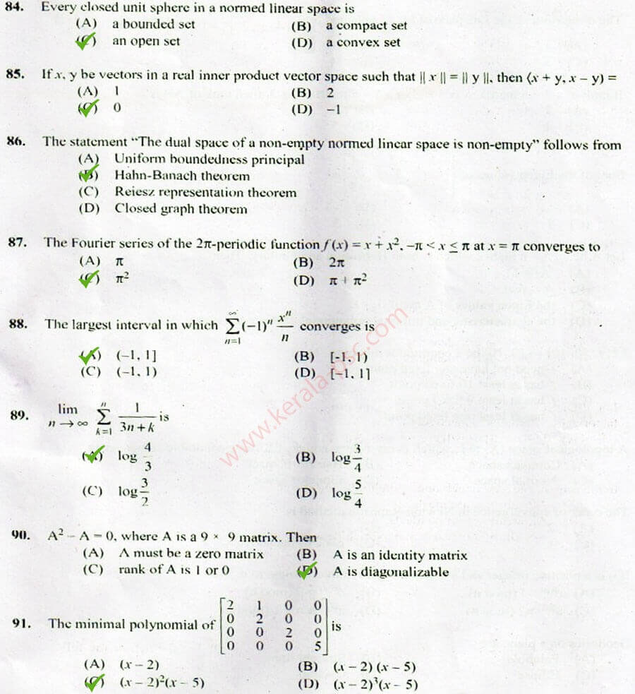 Higher Secondary School Teacher (Junior) Mathematics 331 ...