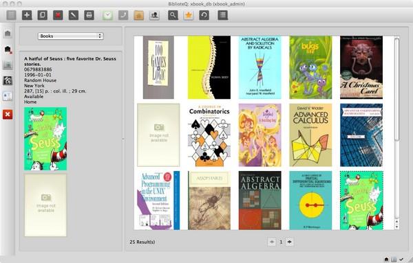 BiblioteQ - Δωρεάν πρόγραμμα αρχειοθέτησης βιβλιοθήκης