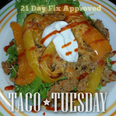 21 dat fix, 21 day fix recipes, 21 day fix tacos, healthy tacos, healthy recipes, healthy taco recipes, taco tuesday, tasty tuesday