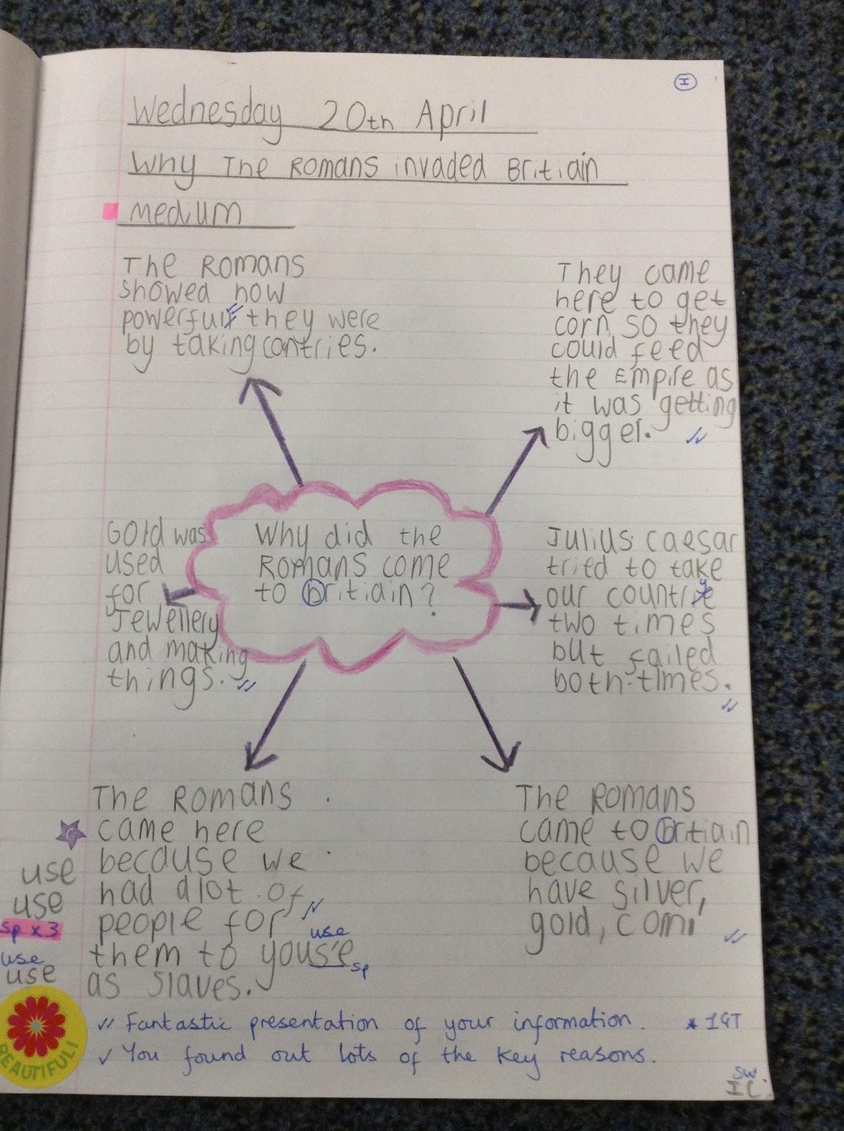 Homework help about romans