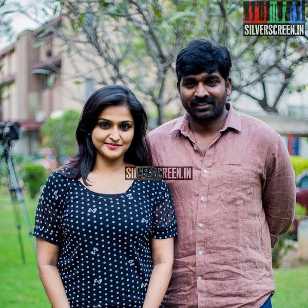 Ramya Nambeesan latest photos from Tamil movie Sethupathi press show
