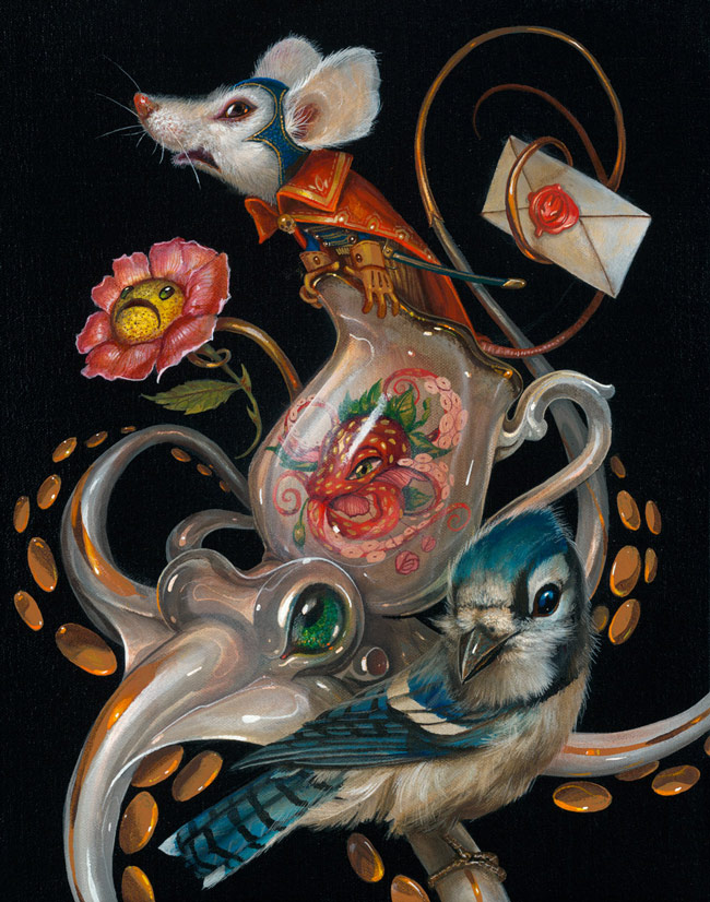 02-Salt-Greg-Craola-Simkins-Fantastical-Surreal-Paintings-Full-of-Details