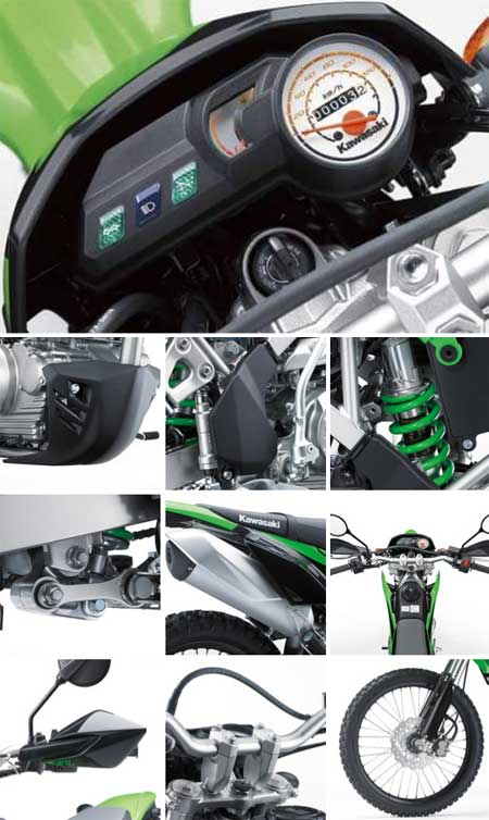detil Kawasaki KLX 150 2015