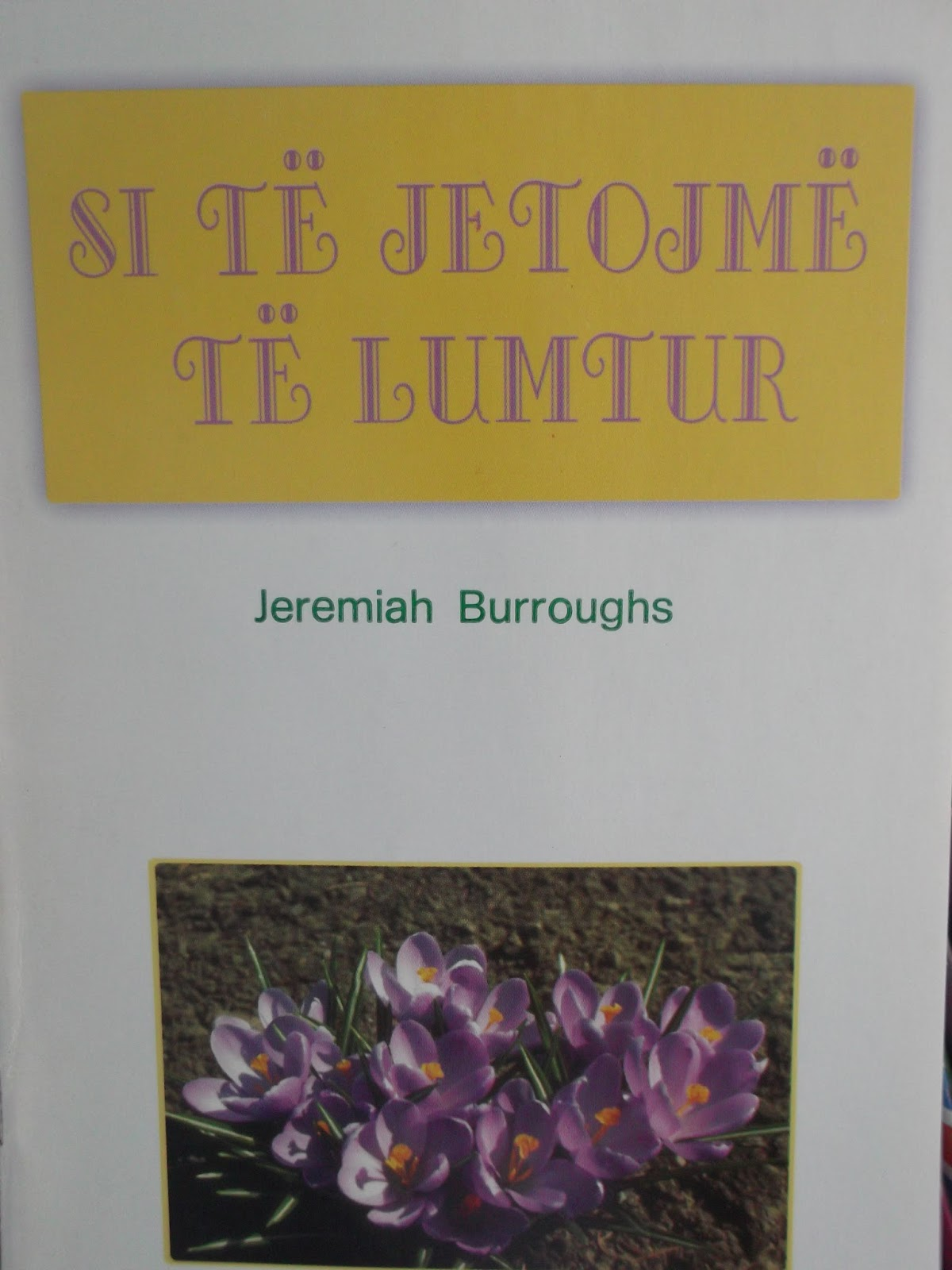 Si te jetojme te lumtur - Xheremia Bras - Libra te Krishtere