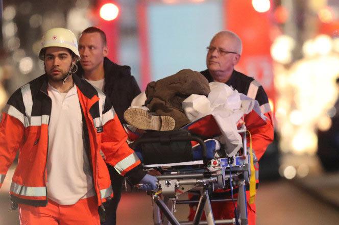 12 dead and 48 injured as terrorists strike Christmas market in German capital, Berlin