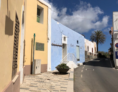 The town of Scauri, Pantelleria.