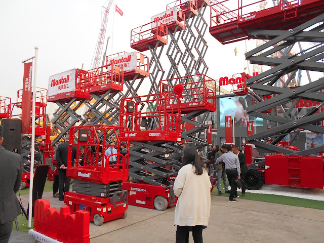 Bauma Exhibition in Shanghai 3