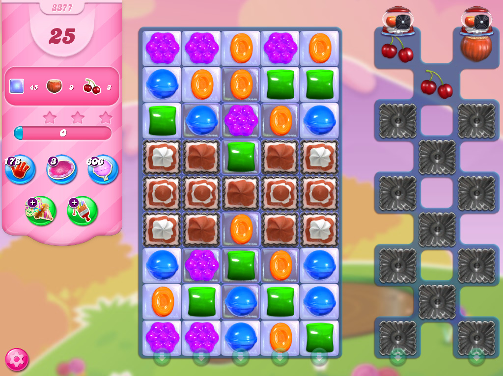 Candy Crush Saga level 3377