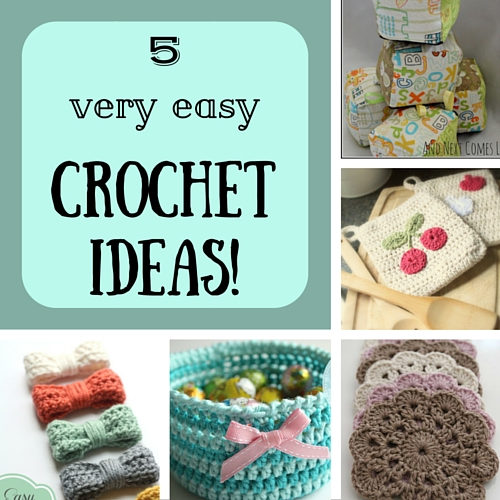 5 very easy crochet ideas
