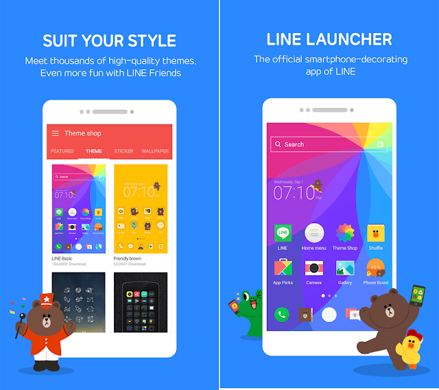 LINE Launcher v 2.1.60  APK Terbaru