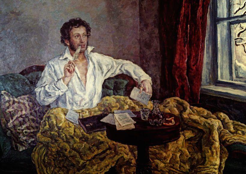 Image result for Alexander Pushkin