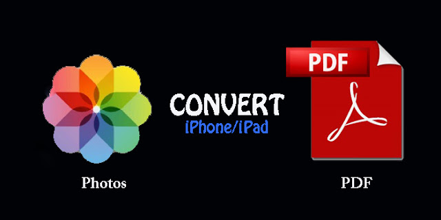 Is there any way to convert photos to PDF on iPhone and iPad? So follow this steps to convert and save your Photos into PDF file on iPhone –iPad