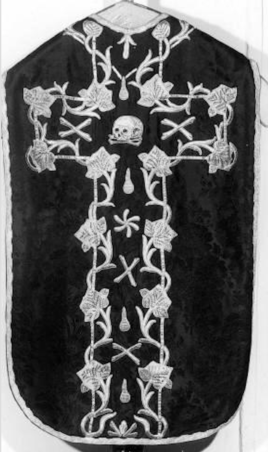 Some Unique Black Vestments For All Souls Day Liturgical Arts Journal