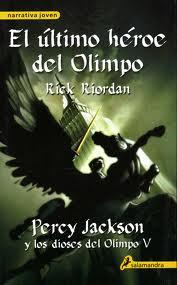 El ultimo dios del Olimpo – Rick Riordan