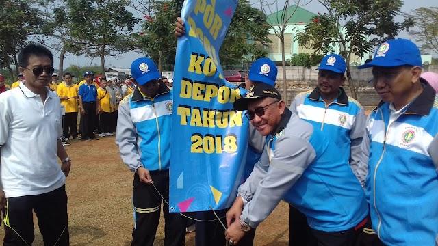Walikota Buka Pekan Olahraga PGRI ke-73