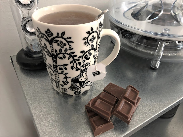 Earl Gray tee suklaa