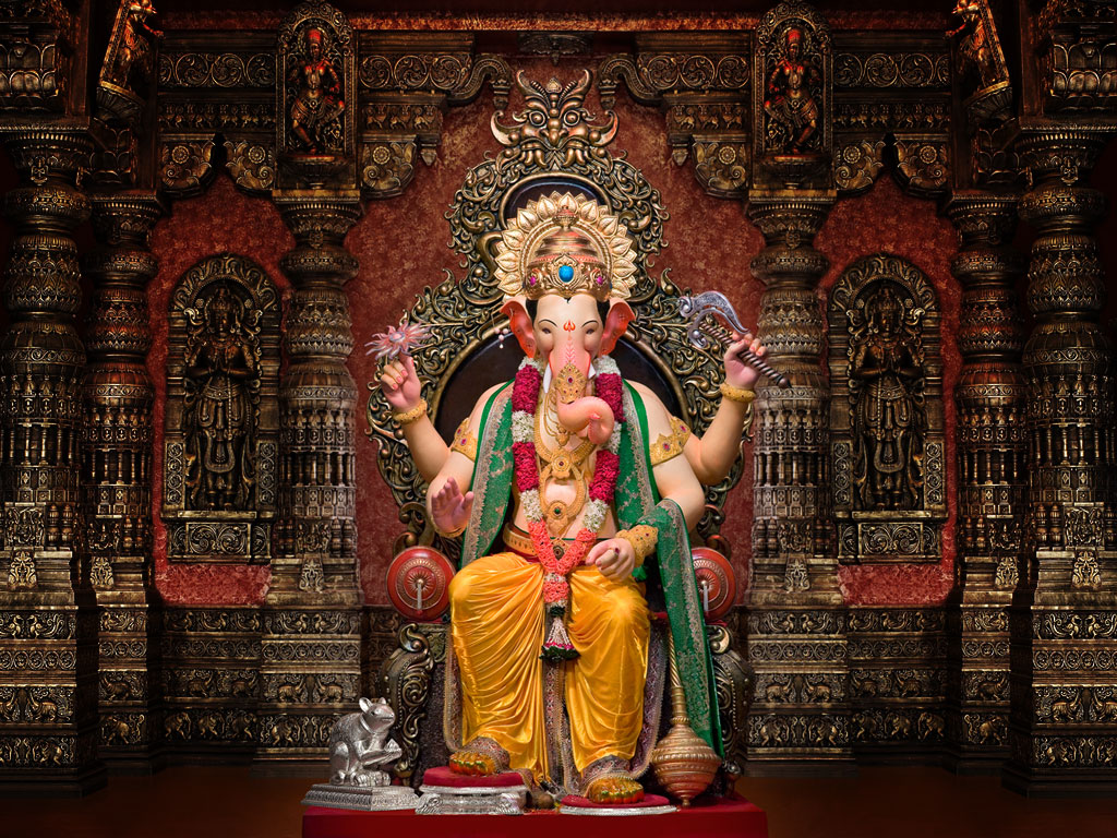 Festival 2013 Beautiful Ganesha Hd Wallpaper