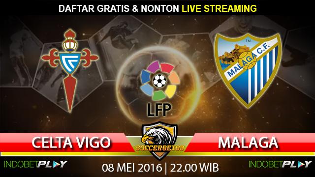 Prediksi Celta Vigo vs Malaga 08 Mei 2016 (Liga Spanyol)