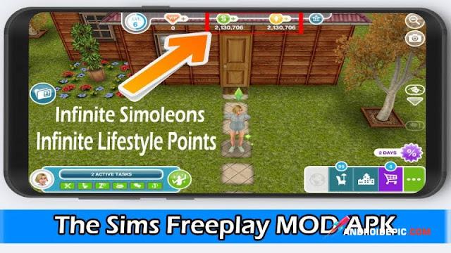 , The Sims FreePlay Android Unlimitred Money adalah game simulasi yang mengibaratkan kita hidup sehari-hari, seperti makan, mandi, membangun rumah, bekerja hingga bersosialisasi dan banyak lagi.