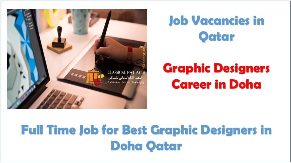 Senior Graphic Designer Job In Qatar