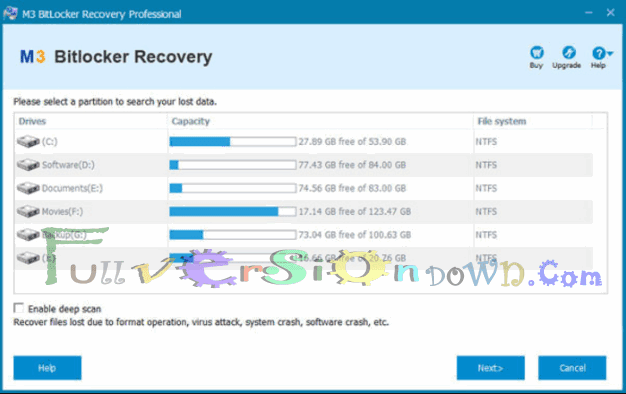 M3 BitLocker Recovery Professional Full