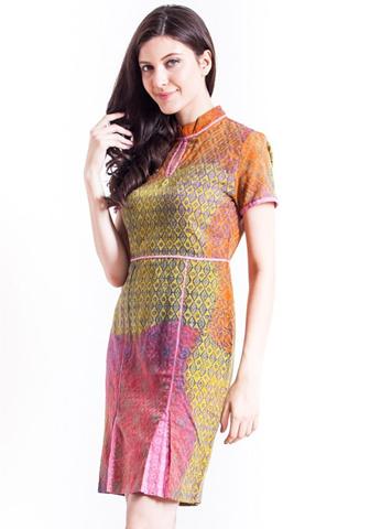 Model Baju Batik Wanita Modern Kombinasi 2016 - Busana ...