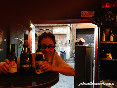 Cinco bares em Trastevere, Roma
