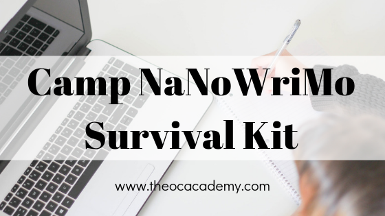 Camp NaNoWriMo Survival Kit